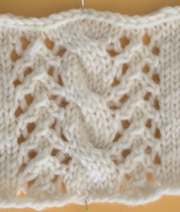 Lace & Cables - Panel