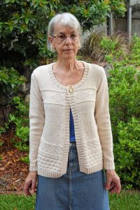 Oatmeal Cardigan Front